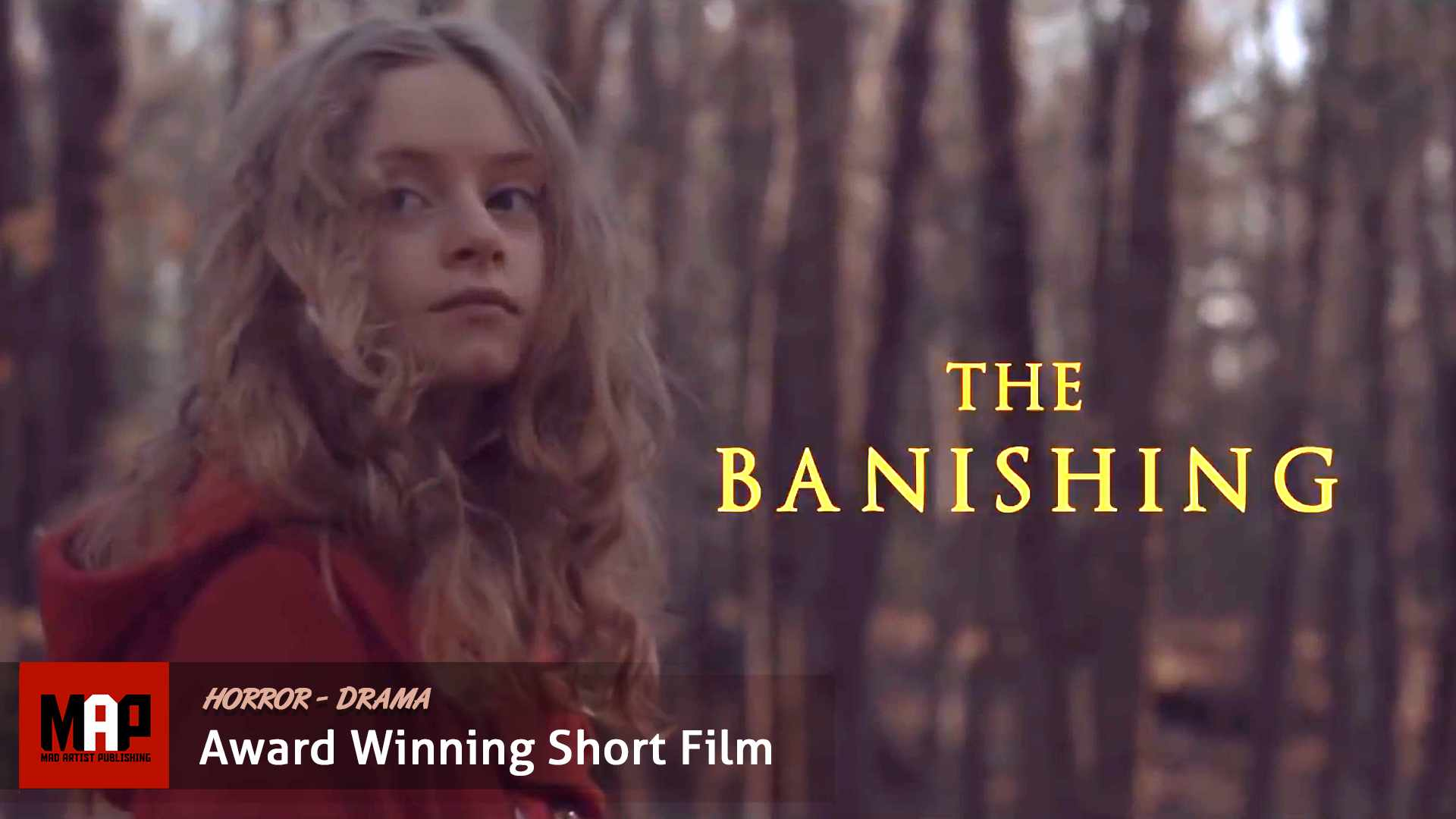 Horror Short Film ** THE BANISHING **  Award Winning Movie By Erlingur Óttar Thoroddsen